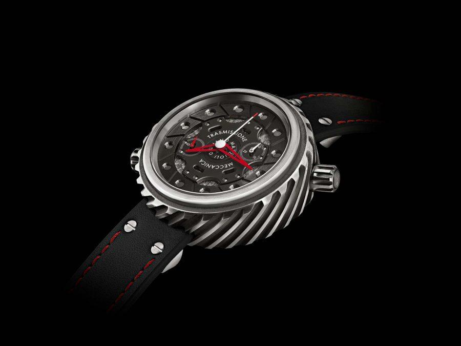 Trasmissione meccanica chronograph watch profile