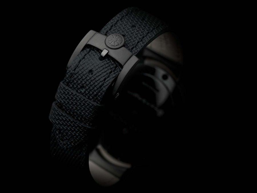 Contagiri matt DLC all-black watchstrap