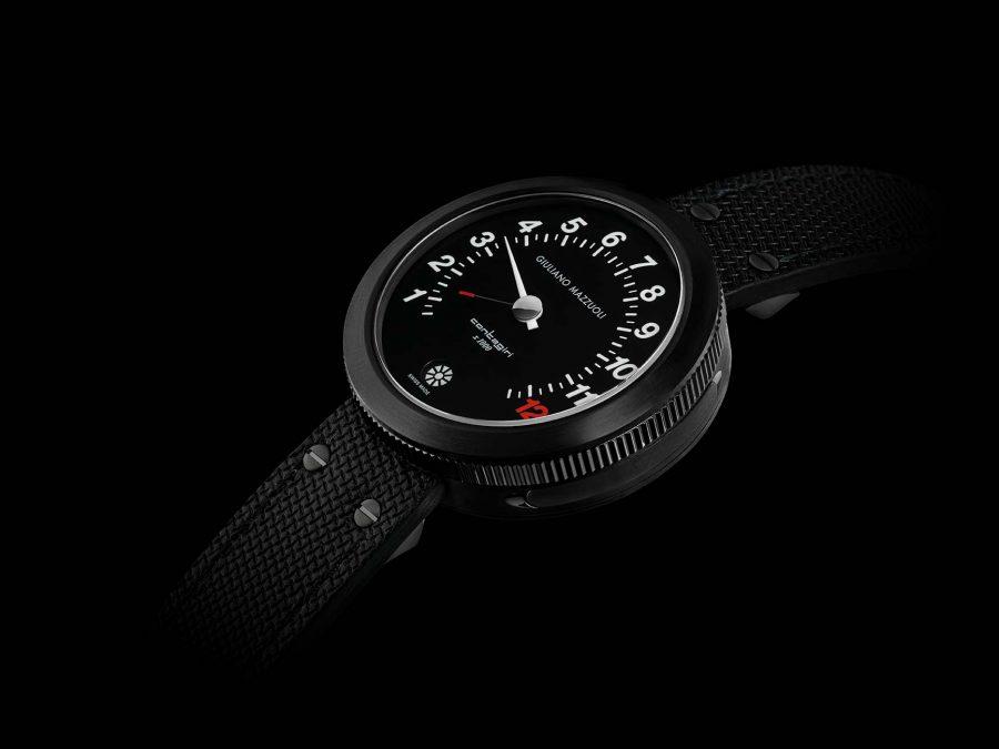 Contagiri matt DLC all-black watch profile