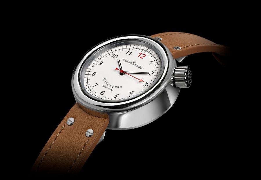 GM MANOMETRO 3 4 white dial