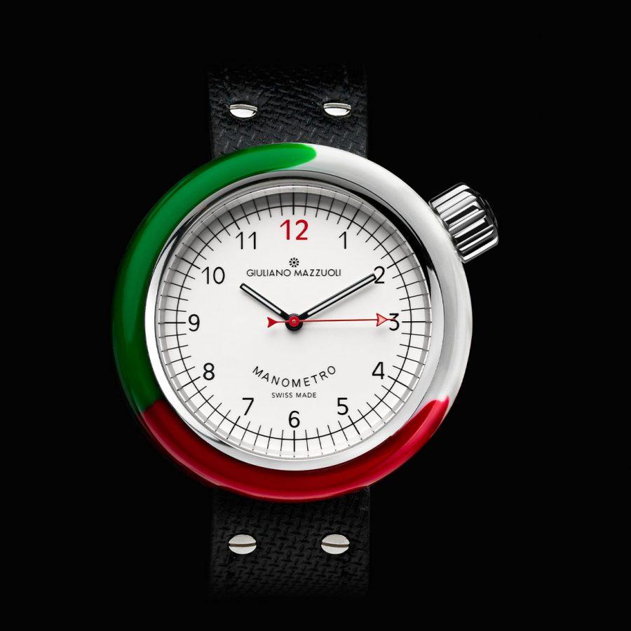 MANOMETRO ITALIA Front BIANCO